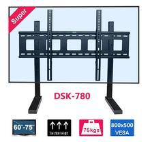 Nova Arival TV Suporte de montagem Se Encaixa para 60-75 polegada LCD LED max VESA até 800x500mm Max Carregando 75 kg