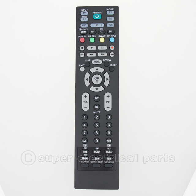 for lg lcd led dvd vcr tv remote control rm 657d mkj32022835