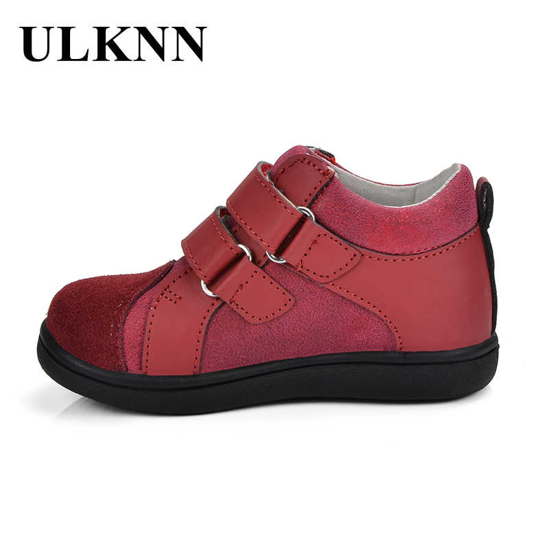 ... ULKNN Boys Shoes Kids Footwear Children Casual Shoes Genuine Leather  Flat Heels Comfortable Breathable TPR Designer ... e31cca58c6bc