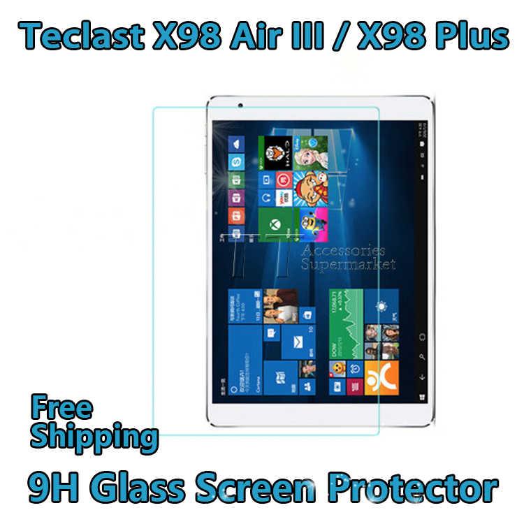 Gratis verzending originele gehard glas screen protector voor teclast x98 air iii/x98 plus screen protector