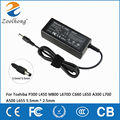 19V 3.42A 65W laptop AC power adapter charger for Toshiba P300 L450 M800 L670D C660 L650 A300 L700 A500 L655 5.5mm * 2.5mm