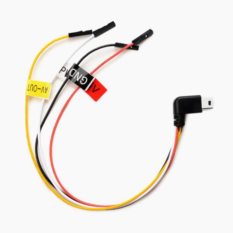 High Quality 9.5cm AV Cable For SJCAM SJ6 LEGEND/SJ7 STAR For FPV RC Drones
