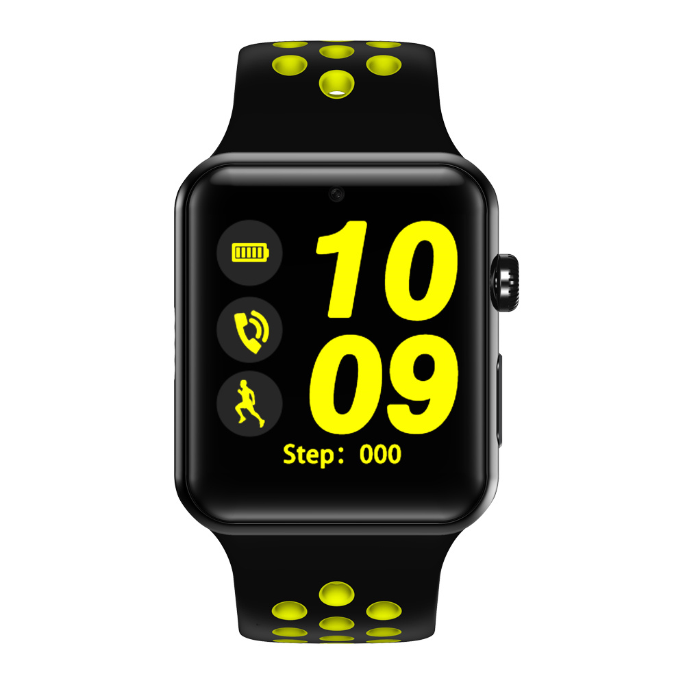 Bluetooth Smart Watch Clock DM09 PLUS Heart Rate Smartwatch HD Screen Sync Notifier Support SIM Card for iPhone Android Phone