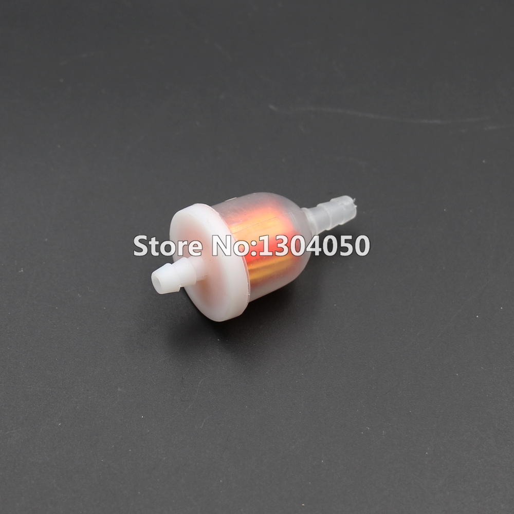 hight resolution of new 100pcs universal gas oil fuel filter 50cc 70cc 90cc 110cc 150cc 250cc china atv dirt