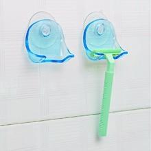 Вешалки бритва присоски чашки всасывания бритвы комнаты стойки крюк полотенце стены