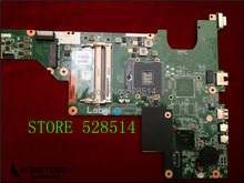 Wholesale For hp Compaq Presario CQ57 Motherboard 646177-001 Genuine Laptop mainboard 100% Tested