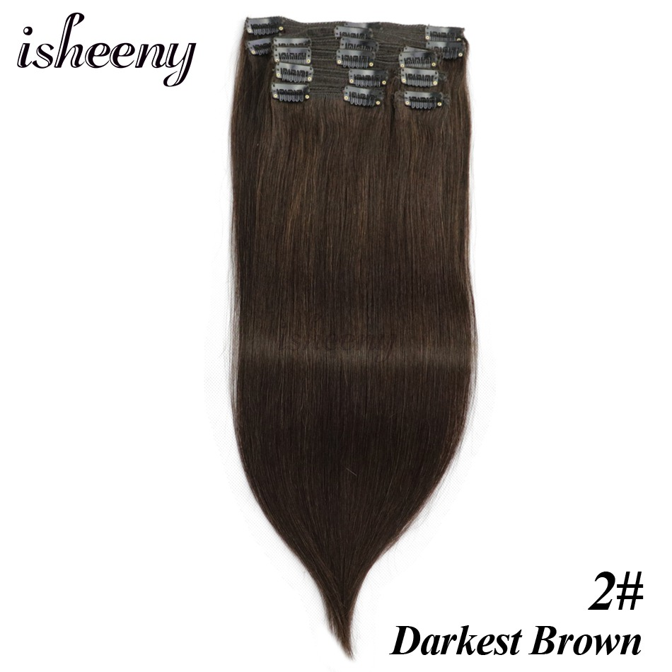 Full Straight Extensions Hair 6