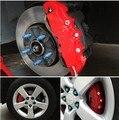 4 pcs Universal Car Auto Brem estilo Disc Brake Caliper Covers frente e RD Rear 5 cores ( escolher a cor que você precisa )