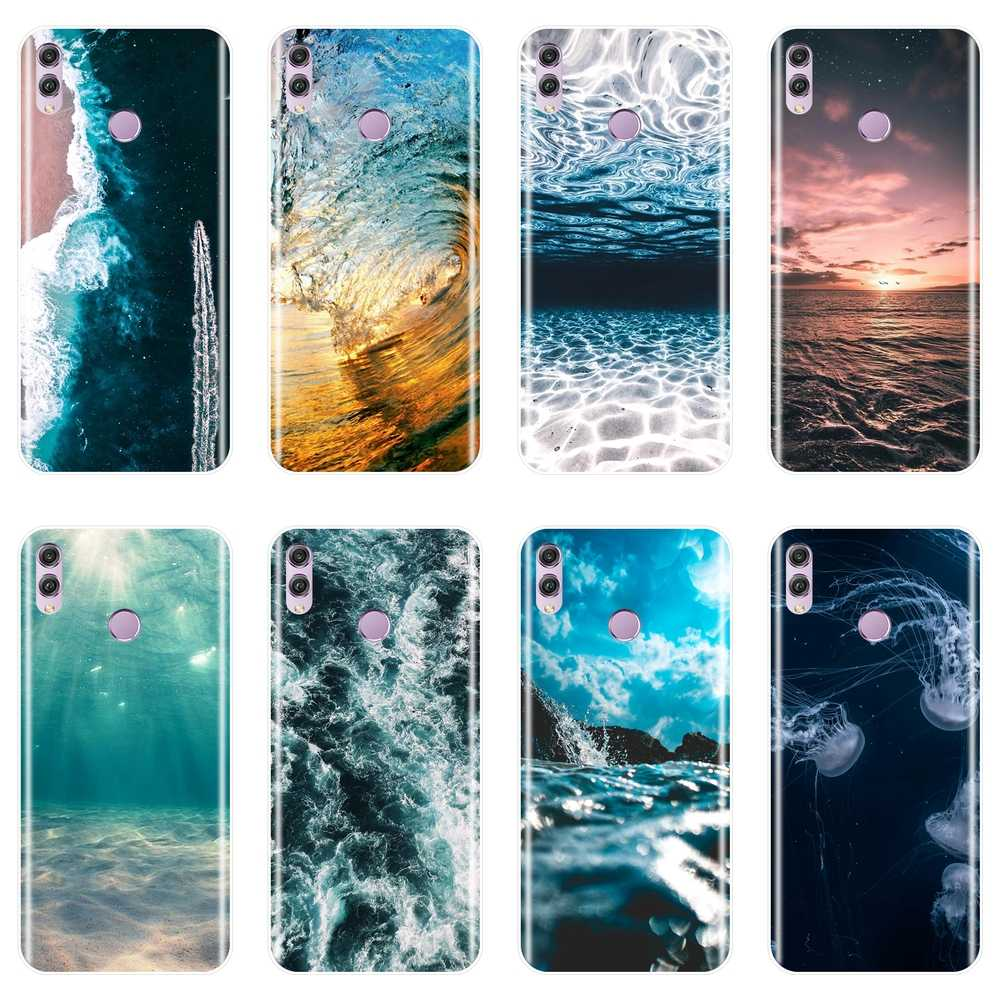 For Huawei Honor 7 8 9 10 Lite Case Silicone Wave Soft Back Cover For Huawei Honor 7 7S 7X 7A 7C Pro 10 9 8 8X MAX Phone Case