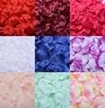 Pétalas de rosa Decoração de Casamento Petalas Artificiais 2000 unidades/lotes Barato Pétala De Flor de Seda Artificial