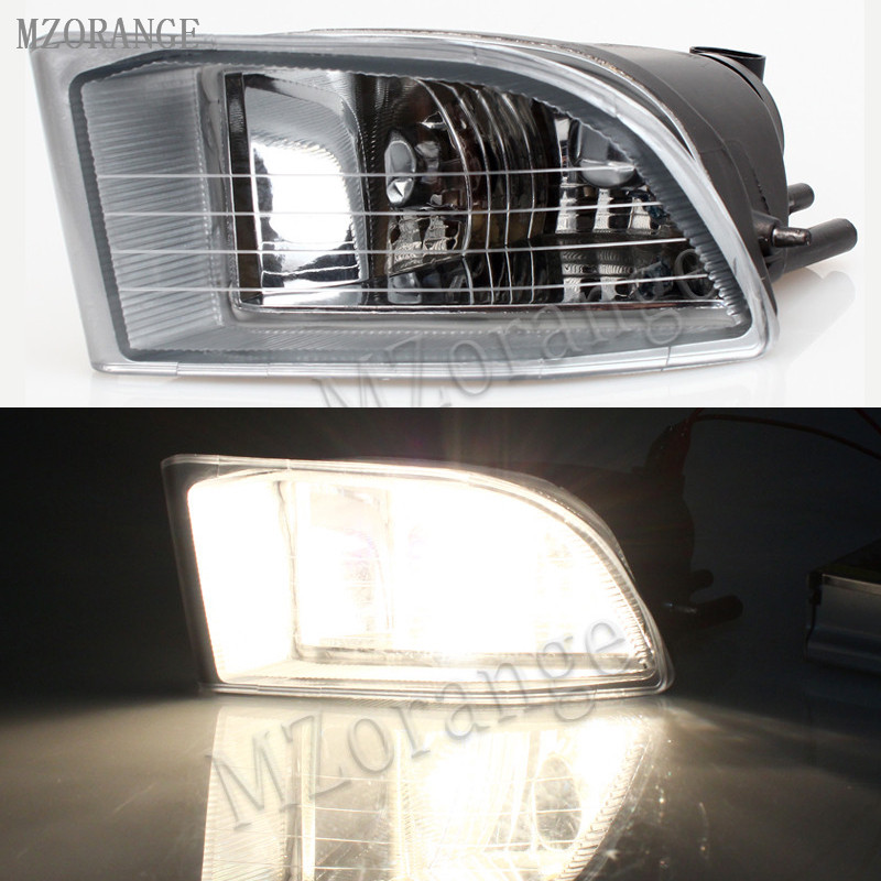 MZORANGE Front Fog Light Fog Lamp For Toyota PRADO 120 2700/4000 For Land Cruiser LC120 2002 2003 2004 2005 2006 2007 2008 2009 камера заднего вида для toyota intro vdc 028 toyota land cruiser 100 2003 2007 toyota land cruiser prado 120 2002 2007