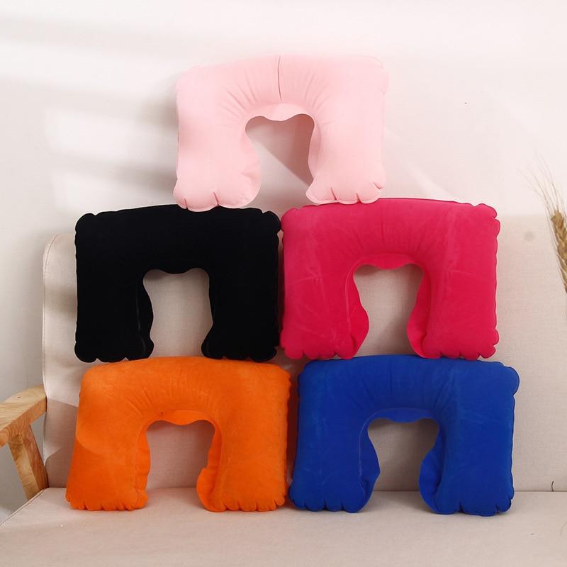 Cuscino a forma di U Cuscino gonfiabile Collo gonfiabile Cuscino da - Tessili per la casa
