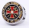 Античная нержавеющей стали золотой/серебряный железный тамплиеров мужчины крест кольцо
