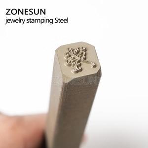 Image 4 - ZONESUN  Custom link for Steel Stamp Metal Punch Die by Ali standard shipping to Spain