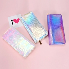 Fashion Women Lady Girls faux Leather Wallet Card Holder Phone Purse Long Handbag Zipper New Fashion