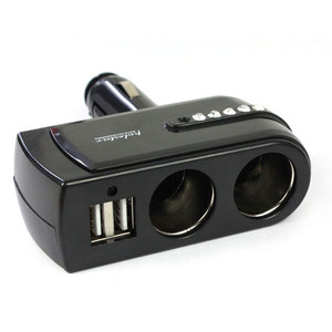 New Black 2 USB supply Charger