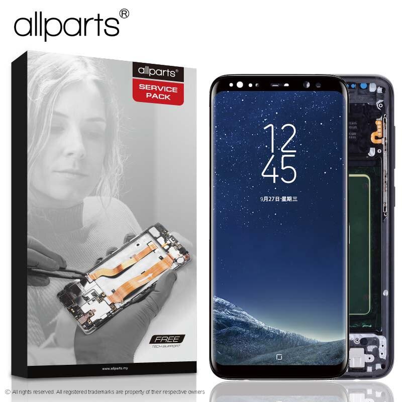 @ ORIGINAL AMOLED für SAMSUNG S8 LCD Display Touchscreen Digitizer Ersatz für SAMSUNG GALAXY S8 Plus LCD SAMSUNG S8 LCD