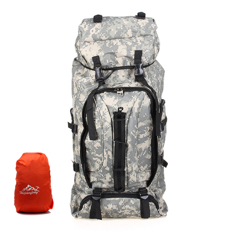Large Capacity 80 L Outdoor Military Tactical Backpack Multipurpose Camping Hiking Bag Big Sports Climbing Package Rucksack развивающая игрушка fisher price гусеница с сюрпризом dhw14
