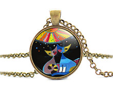 2017 new hot 2015 Brand Boutique Rosina Wachtmeister Cats Accessories Colorful Cats Silver Classic Joyas Order in Aliexpress HZ1
