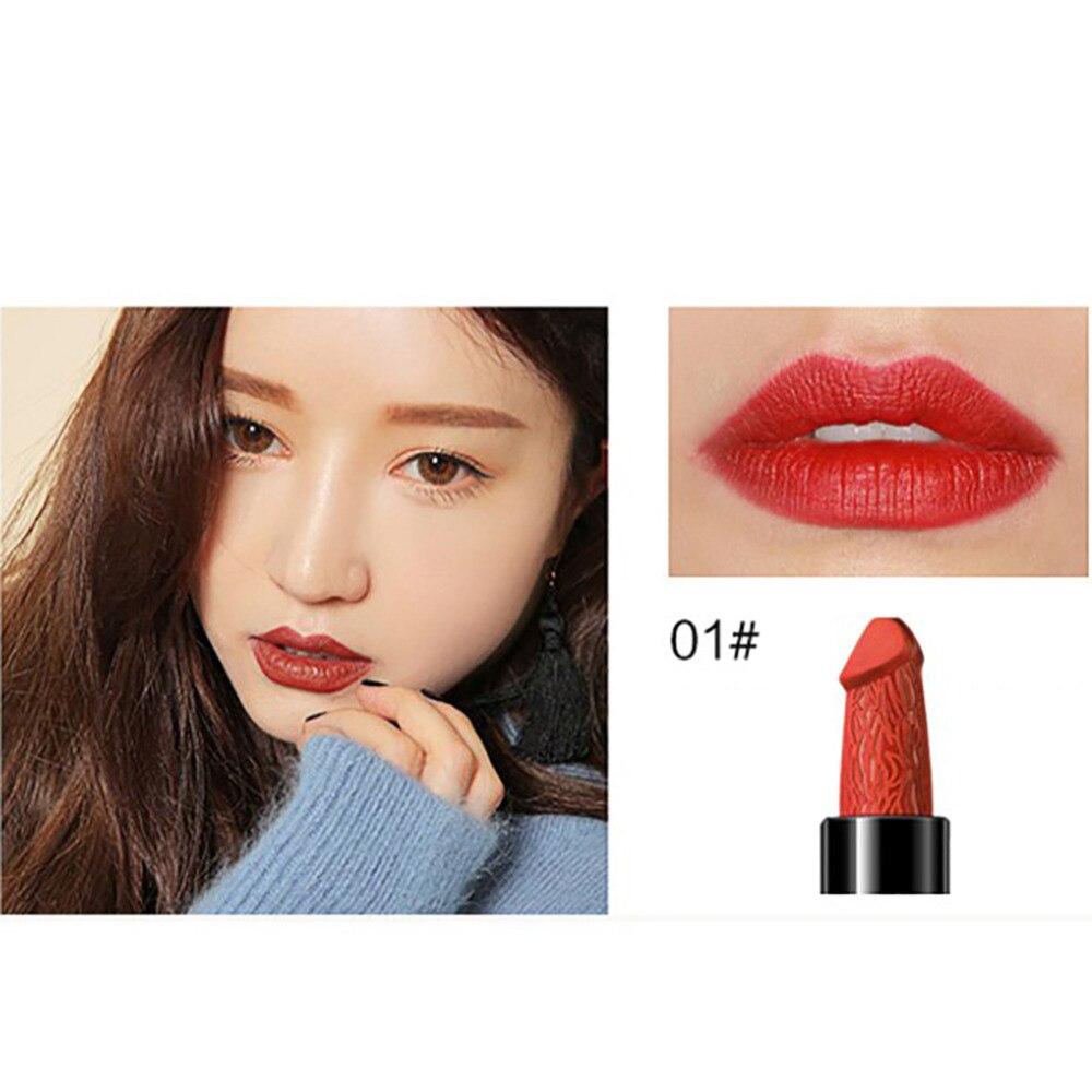 Kiss Out Of Makeup: 8 Colors Liphop Penis Shape Lipstick Lasting Moisturizer
