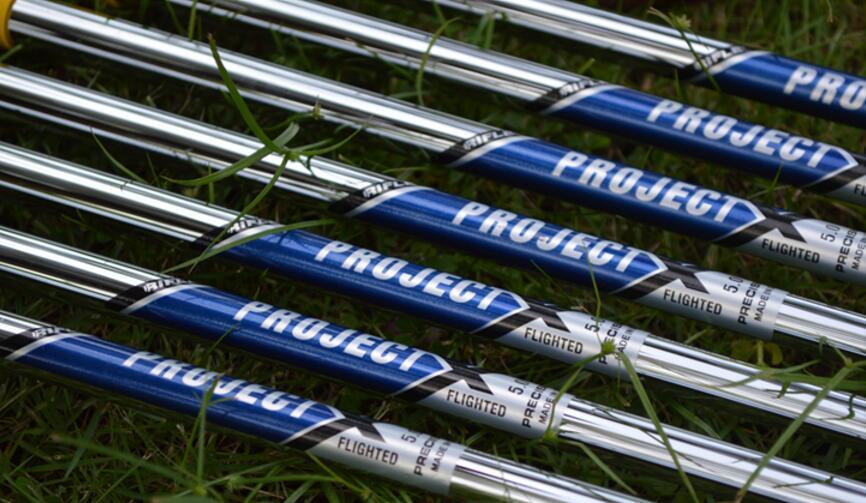 TourOKGolf Irons Shaft Project X 5.0/5.5/6.0/6.5 Steel Golf Shaft  Irons Clubs Shaft Free Shipping