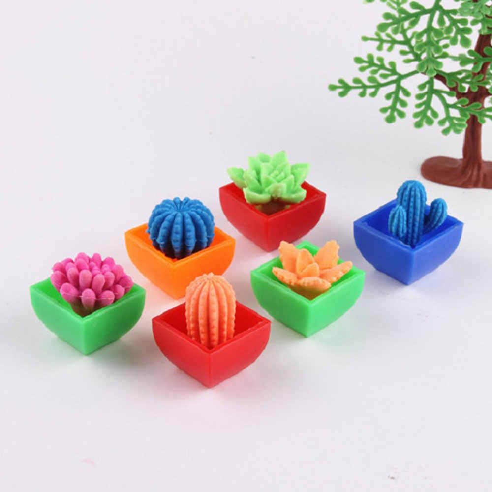 Magic Beautiful Expansion Plant Color Random EVA Antistress Gadget  Cactus  Baby Flowers & Plants