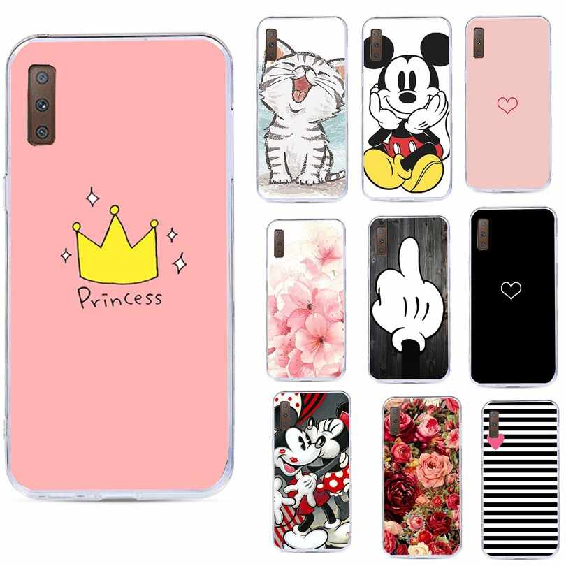 Phone Case For Samsung Galaxury S7 Edge S8 S9 Plus J3 J5 A3 A5 J4 J6 J8 A7 A8 2016 2017 2018 Note 9 Cover Cases Coque Funda