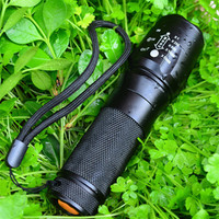 Professinal High Power CREE XM L2 5 Modes LED Flashlight Waterproof Zoomable Lanterna Torch Light Mini