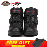 PRO BIKER Motorcycle Boots Moto Shoes Motorcycle Shoes Riding Racing PU Leather Motocross Boots Protective Gear for Men Women