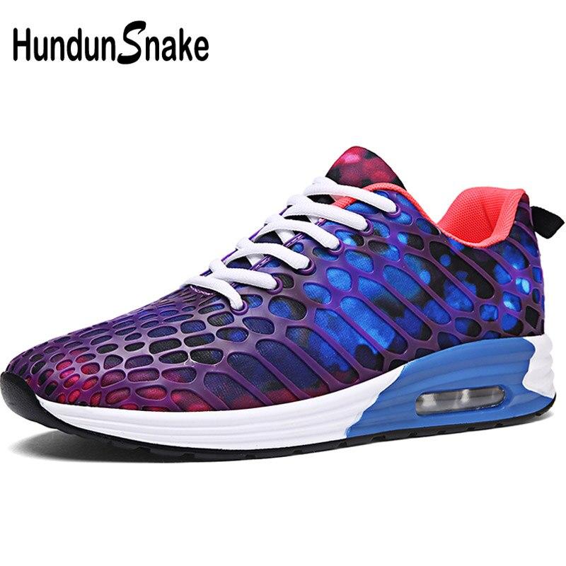 Hundunsnake дышащая Для мужчин кроссовки для Для женщин спортивная обувь Для мужчин 2018 Лето Для мужчин кроссовки мужской спортивной обуви для вз...