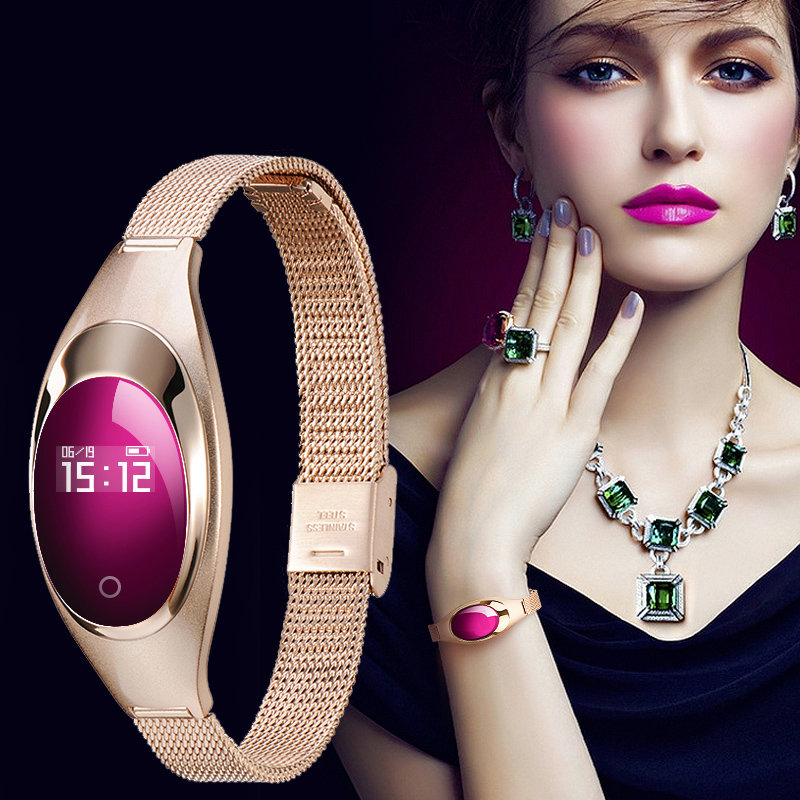 Smart Watch Women Bracelet Smartwatch For Android IOS with Blood Pressure Heart Rate Monitor Pedometer Inteligente Reloj Clock bluetooth new smart watch blood pressure monitor bracelet sports watch pedometer fashion women smartwatch for ios and android