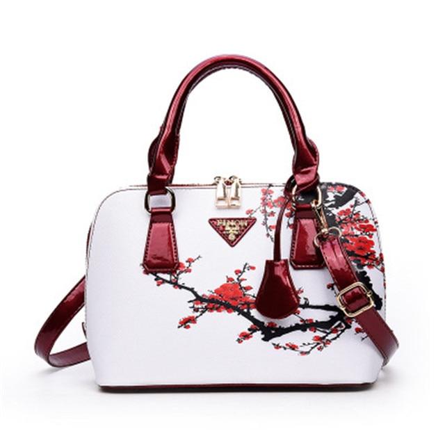 886b5d4e67774e NIBESSER Printed Bags For Women 2018 Designer Bags Famous Brand Women  Shopper Bag Elegant Floral Shell