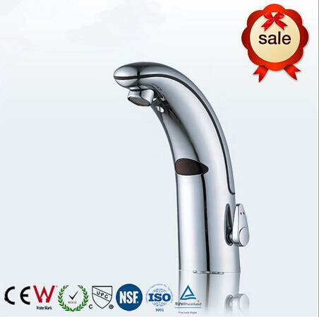 Bathroom touchless sensor faucet basin mixer sensor faucet single cold Auto basin faucet touchless faucet water tap цена