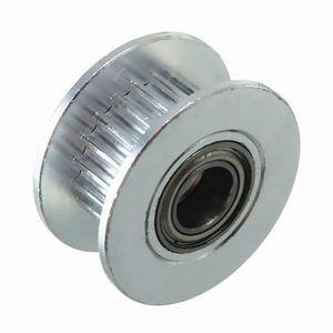 Image 4 - 3 шт. в диаметре 20т 5 мм отверстие 6 мм GT2 Ремень Гладкий направляющий ролик с подшипником для 3D принтера
