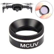 Câmera Filtro MCUV Multifuncional Moldura de Alumínio Acessórios Peças Para Ar Drone YH-17