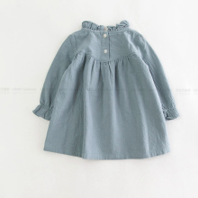 Baby Girl Long Sleeve Dress Blouse Autumn Clothes