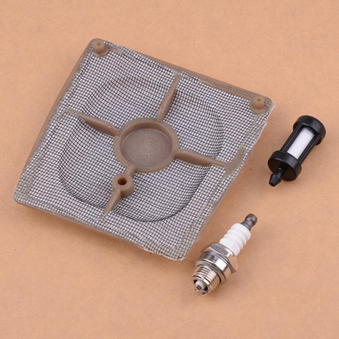 LETAOSK Carburetor Air Fuel & Line Filter & Spark Plug Tool Fit For STIHL 041 Farm Boss Gas Carb Chainsaw 1110-120-1601