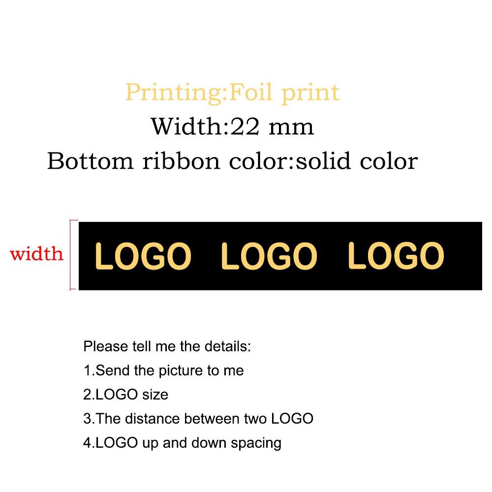 9 ミリメートル幅ゴールド/シルバー箔印刷ソリッドカラーグログランリボンカスタムデザインパターン結婚式のアクセサリー 300 ヤード  グループ上の ホーム&ガーデン からの リボン の中 1