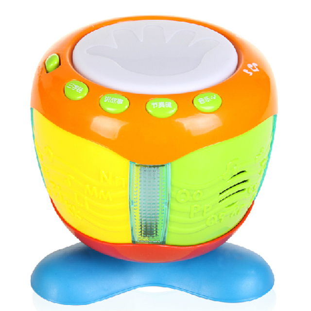 Clap drum electric hand drum and infants educational musical toy 6