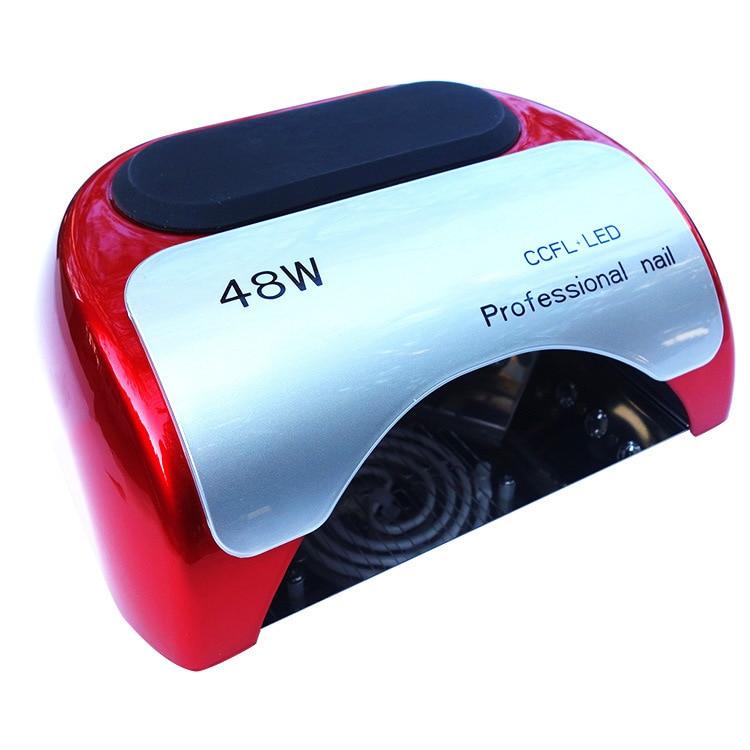 48W Led Nail Lamp 2015 High Quality Led CCFL Lamp Nail Best UV Lamp For Gel Nails Polish 110 220V Nail Dryer Tools