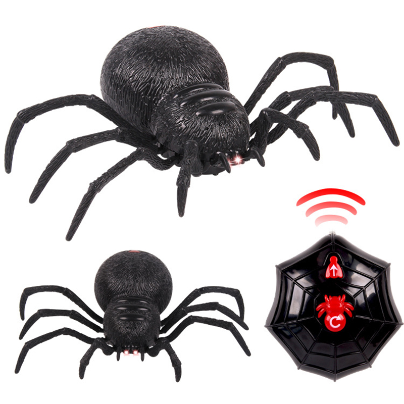Image 5 - High Simulation Animal Cockroach Spider Ant Infrared RC Remote Control Funny Prank Realistic Insect Snake Kids Adults Jokes Toys-in RC Robots & Animals from Toys & Hobbies