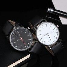 2019 New Couples watch Simple Leather Quartz Watch Men Women Fashion Casual Dress Business Wrist Watches relogio masculino