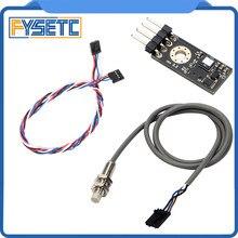 1Set Prusa I3 Laser Sensor 3D Printer Filament Sensor Detecteren Vast Filament Met Kabel En Pinda V2 Sensor Kit voor Prusa I3 MK3