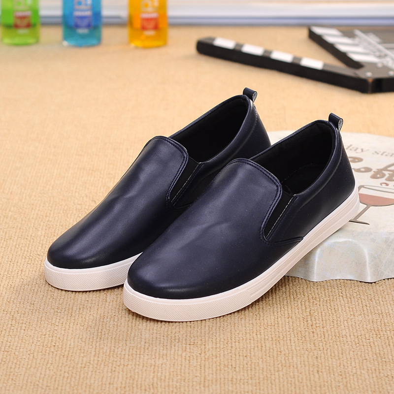 Men's Shoes 2017 Spring Summer Fashion Casual Driving Shoes PU Leather Loafers Men's Footwear Slip-on Men Flats Boat Shoes 2017 autumn fashion men pu shoes slip on black shoes casual loafers mens moccasins soft shoes male walking flats pu footwear