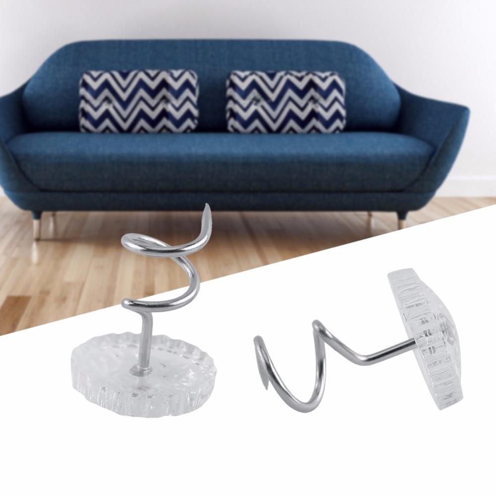 diy sofa repair teak set singapore 30 50pcs upholstery twist pins couch chair car headliner loose drapery craft
