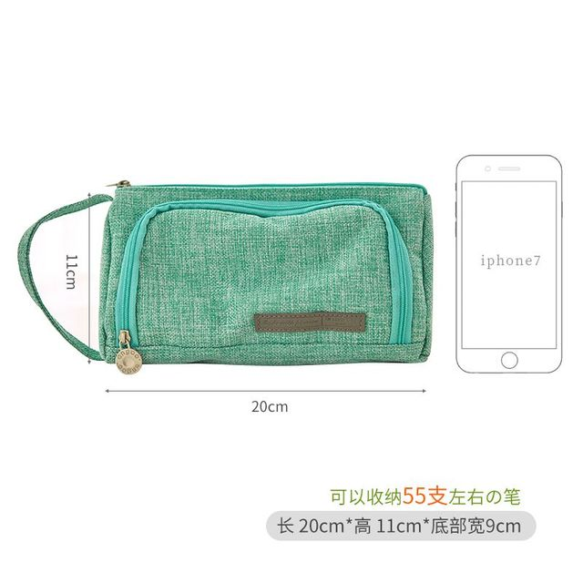Lovely Pencil Case Kawaii Large Capacity Pencilcase School Pen Case Portable Pencil Bag Pencils Pouch School Pen Box Stationery