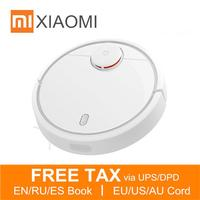 Original XIAOMI MI Home Smart Plan Type Robotic Vacuum Cleaner With Wifi App Control And Auto