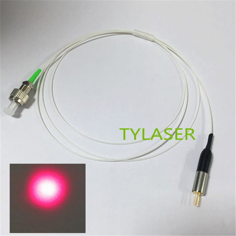 650nm FP 5mw  SM Laser Diode Module Built-in Monitor PD