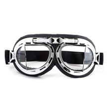 cf48d0b502 Nuevo Retro gafas de motocicleta Harley gafas UV a prueba de viento a prueba  de polvo gafas de deporte al aire libre gafas de so.
