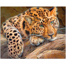 Diamond Embroidery Painting 3D Full Drill  Mosaic Cross Stitch Pasted DIY Home Decora Craft animal ZX